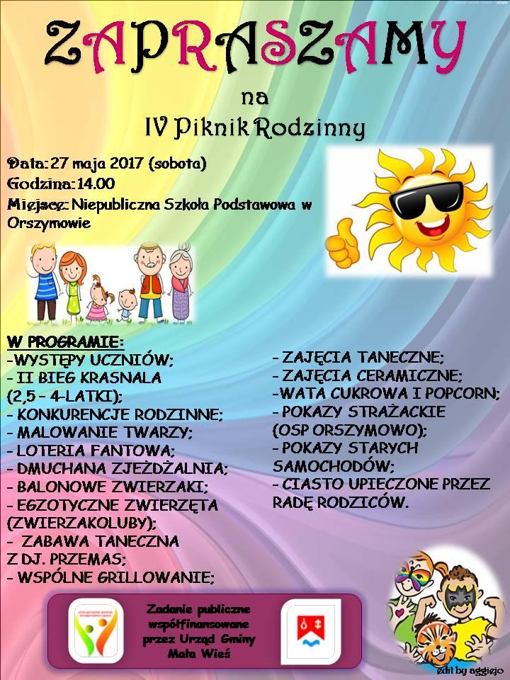 IV Piknik Rodzinny 2017